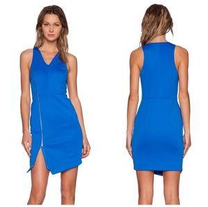 NEW 1. State Exposed Zip Neoprene Dress